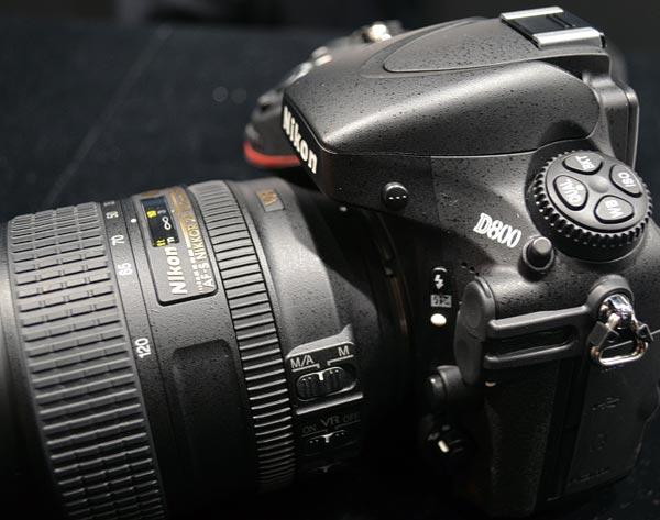 Nikon D800 Angle