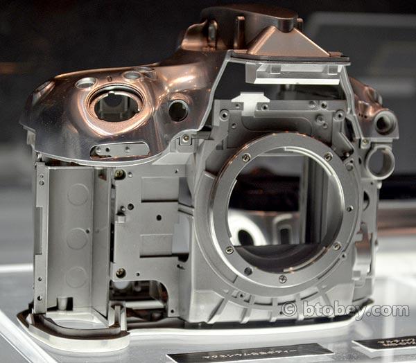 Nikon D800 Internal Frame