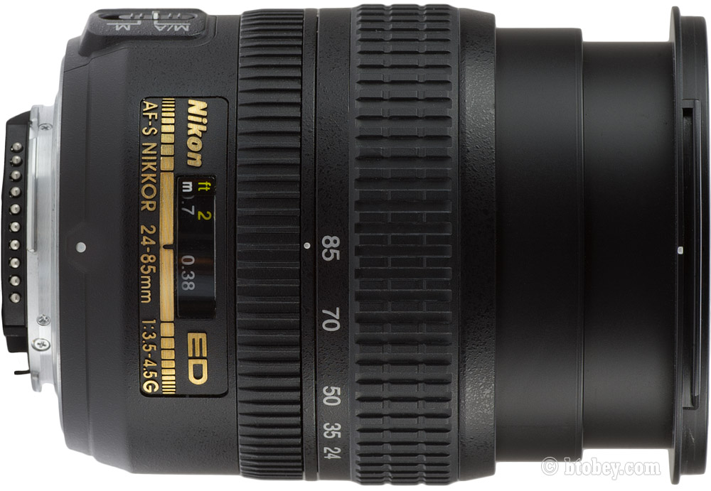 Nikon 24-85mm AFS Focus