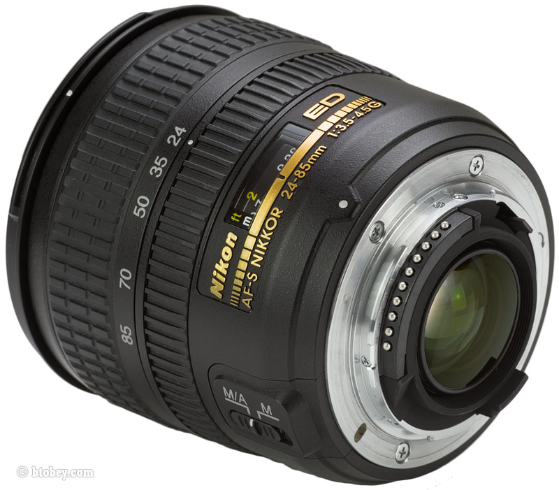 Nikon 24-85mm Rear Mount