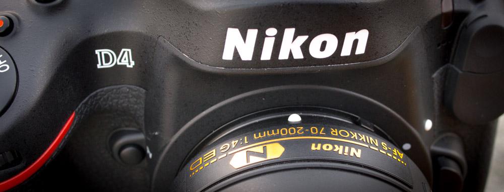 Nikon 70-200mm F/4 VR on Nikon D4