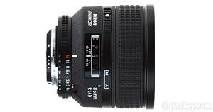 85mm f/1.4 D AF